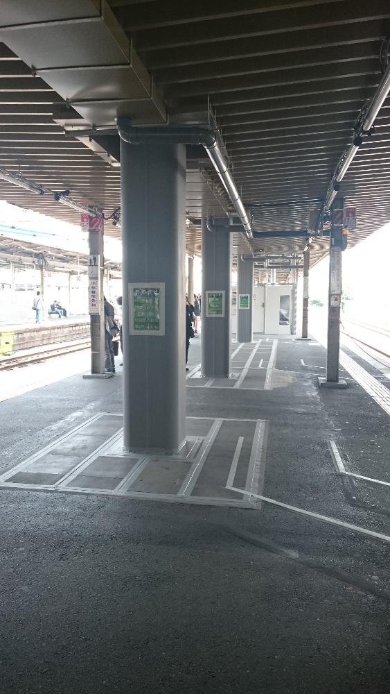 JR茨木駅改良工事人工地盤柱