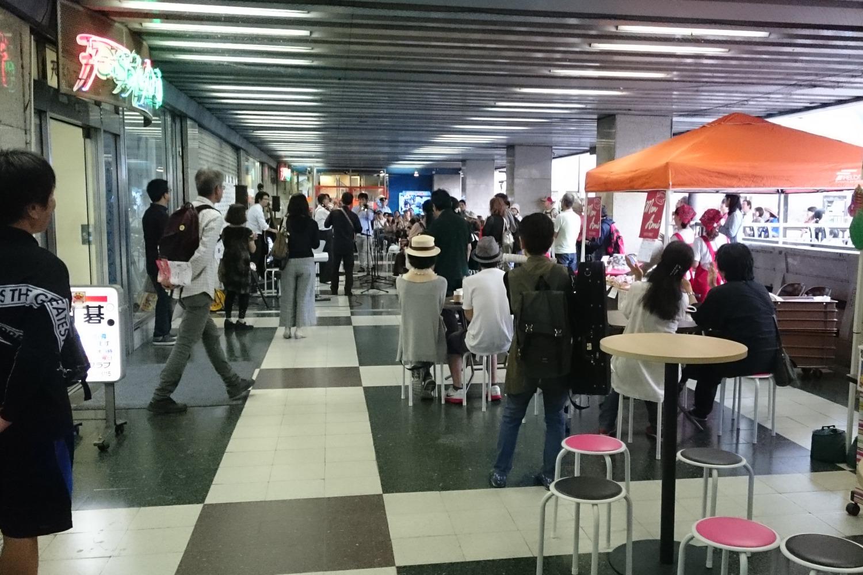 建替推進委員会などが中心になってソシオ茨木などで開かれたIBARAKI JAZZ CLASSIC FESTIVAL 2018